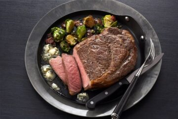 boneless ribeye steak recipe with brussel sprouts